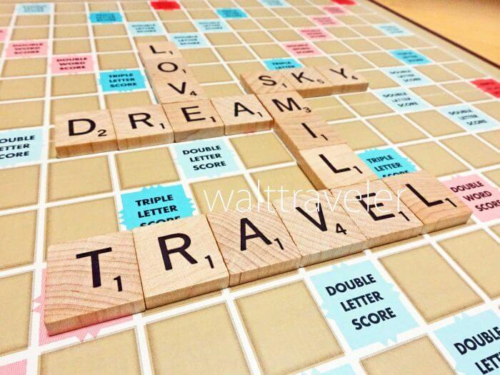スクラブル(Scrabble)で遊びながら英語を勉強!遊び方は?