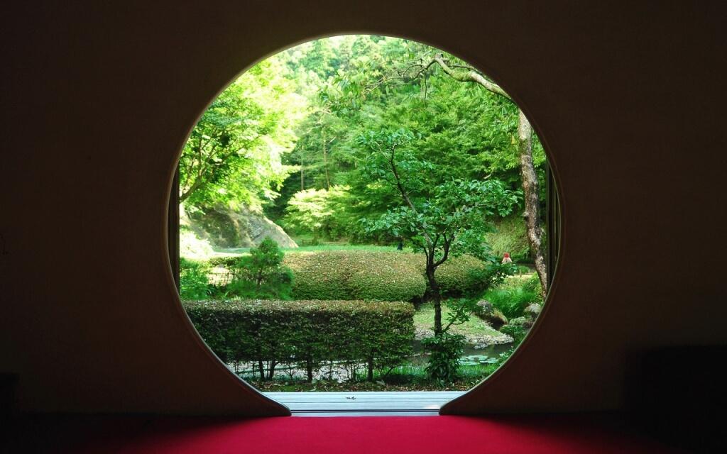 明月院 悟りの窓