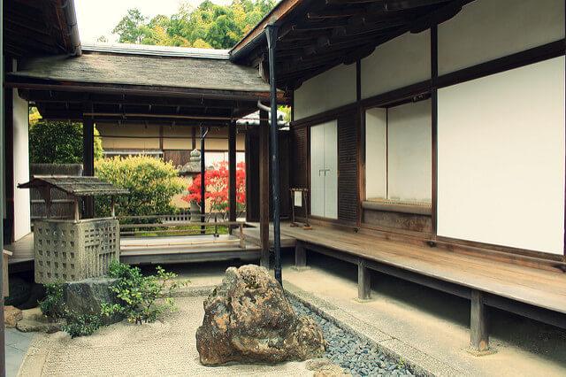 銀閣寺 手水鉢