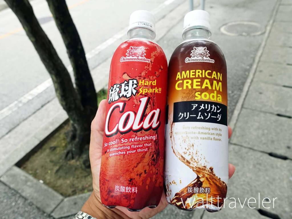 沖縄 那覇 琉球コーラ アメリカンクリームソーダ