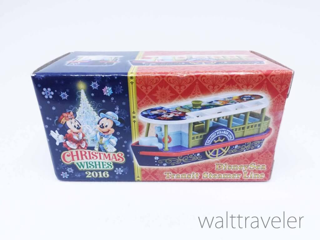 トミカ クリスマスウィッシュ2016 ディズニーシートランジットスチーマーライン