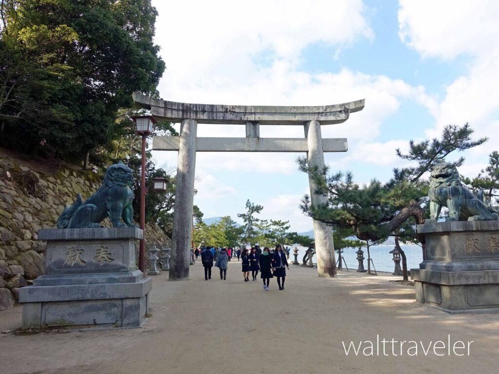 厳島神社 宮島 一の鳥居