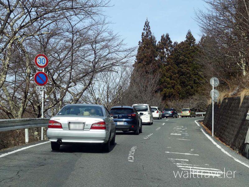 三峯神社 渋滞