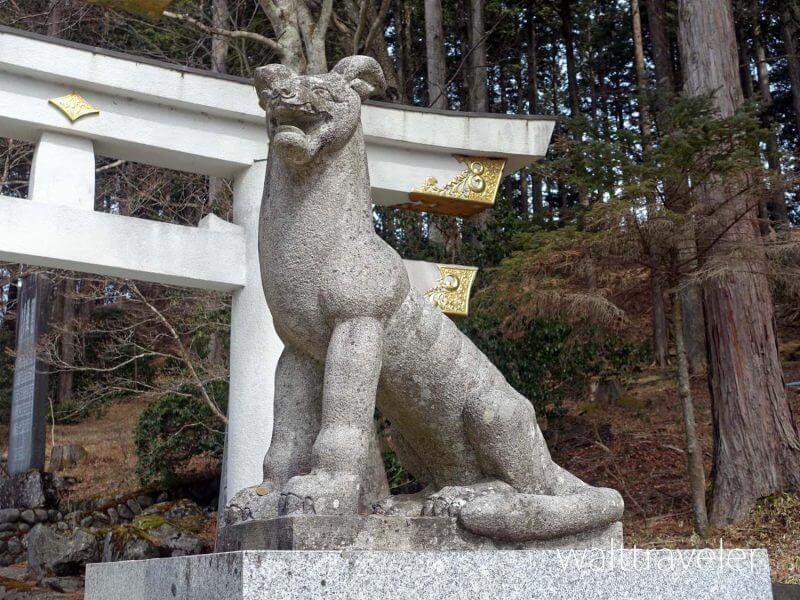 三峯神社 狼