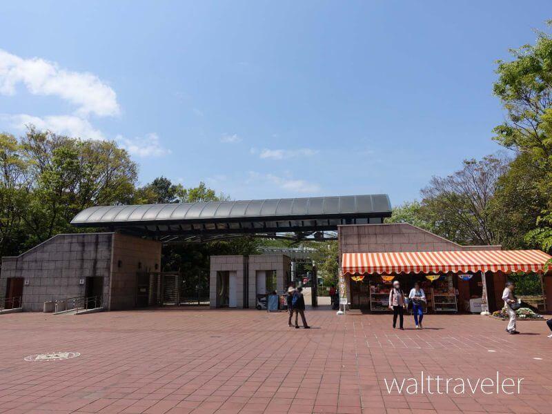 千葉市動物公園 正門売店