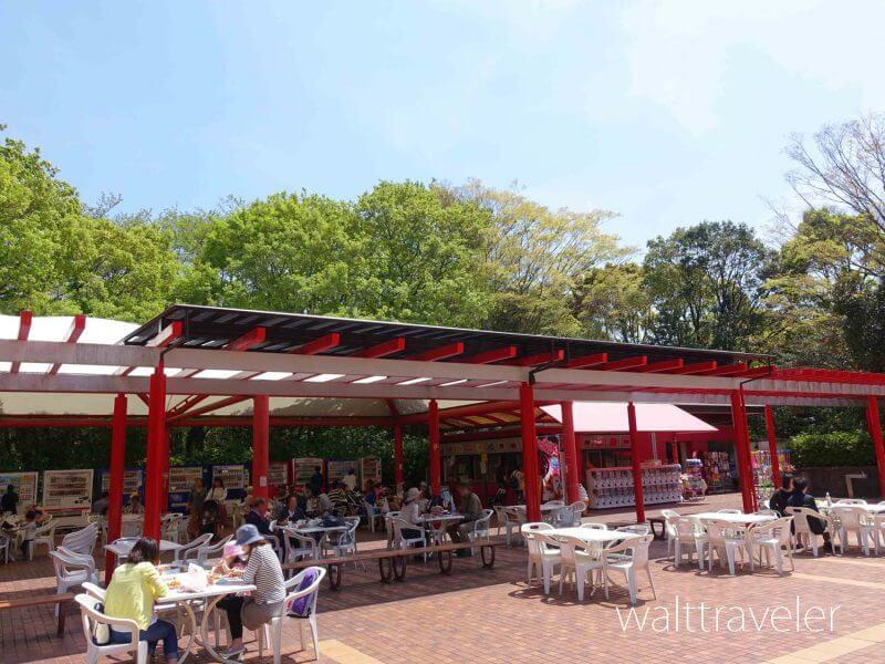 千葉市動物公園 中央広場売店