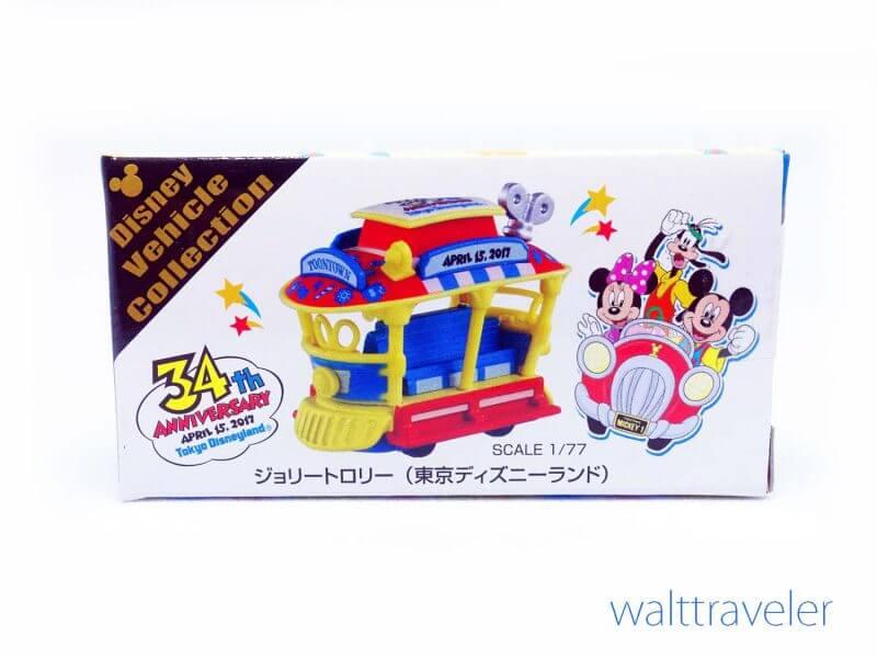 トミカ 東京ディズニーランド 34周年 ジョリートロリー