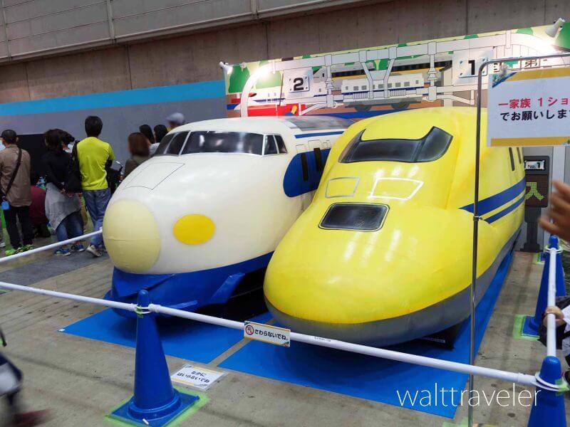 プラレール博 展示ゾーン 新幹線 ドクターイエロー
