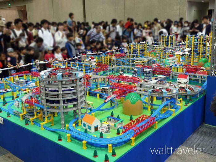 プラレール博 展示ゾーン 巨大ジオラマ