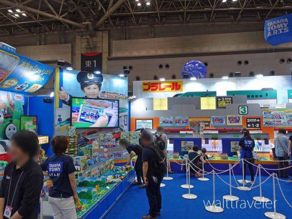 東京おもちゃショー2017 タカラトミー プラレール