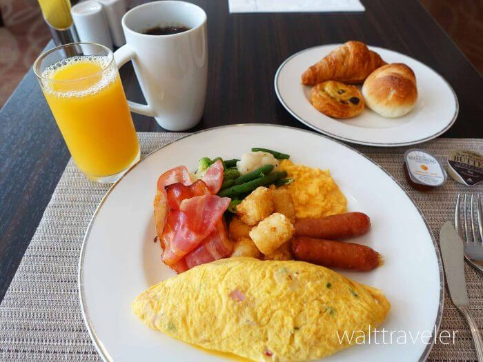 ヒルトン成田朝食レビュー!ビュッフェで海外気分!8時以降がおすすめ!