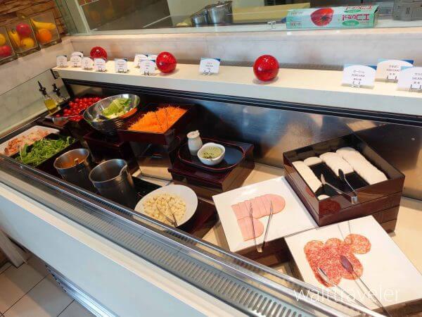 ヒルトン成田 朝食ビュッフェ