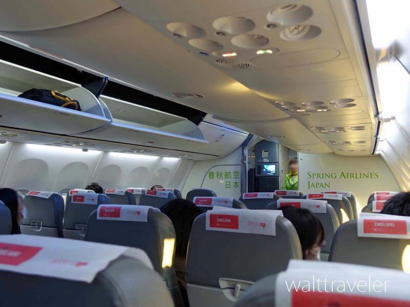 春秋航空 機内 座席