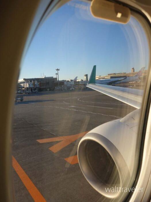 広島日帰り旅行 スプリングジャパン IJ621 成田→広島 成田空港