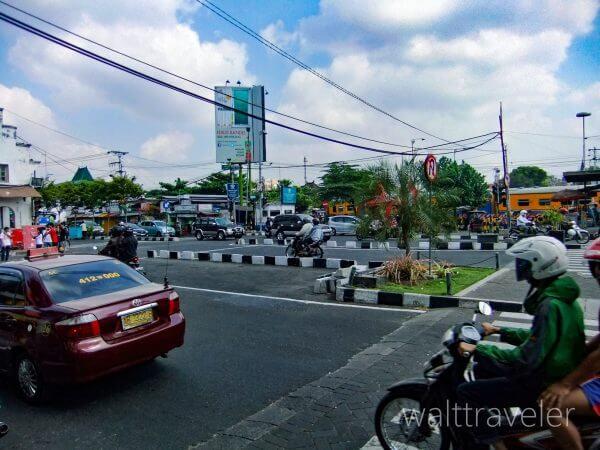 ジョグジャカルタ ジョグジャカルタ駅 トゥグ駅 インドネシア旅行
