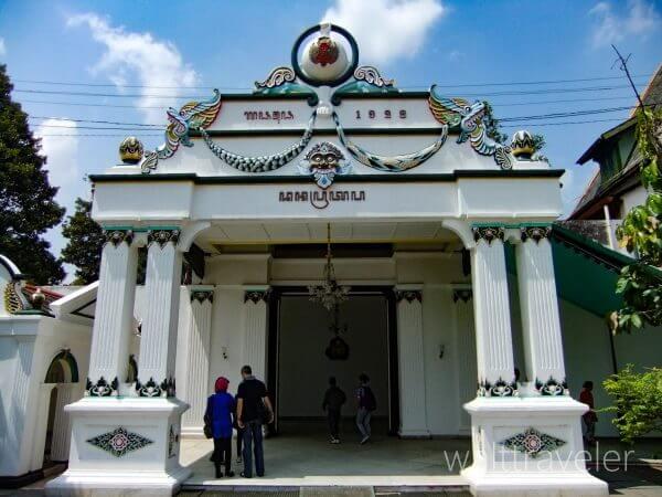 ジョグジャカルタ クラトン 王宮 インドネシア旅行