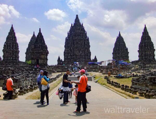 ジョグジャカルタ プランバナン インドネシア旅行