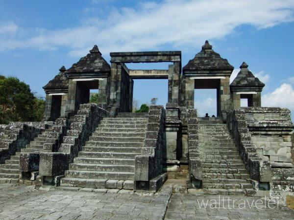ジョグジャカルタ ボコの丘 インドネシア旅行