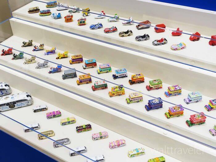東京ディズニーリゾート・ビークル・コレクション展に歴代トミカ約250台が集結!