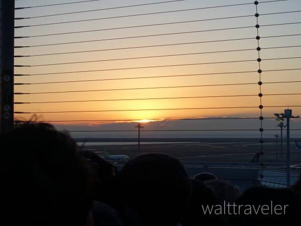 羽田空港 初日の出 元旦