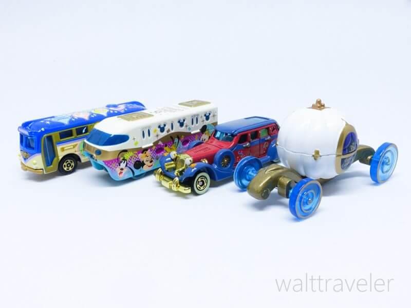 トミカ ディズニービークルコレクション 東京ディズニーリゾート35周年 ディズニーリゾートクルーザー ディズニーリゾートライン リマウジン カボチャの馬車