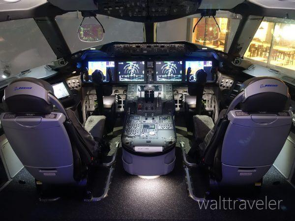 フライトオブドリームズ Flight of Dreams フライトパーク ZA001コックピット