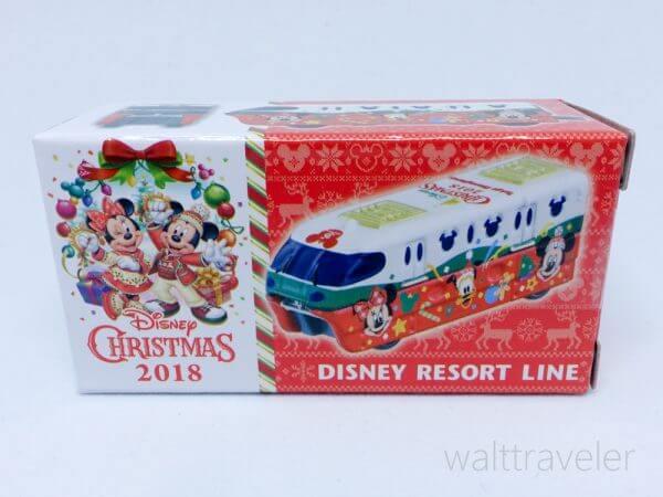 トミカ ディズニークリスマス2018 ディズニーリゾートライン ディズニービークルコレクション