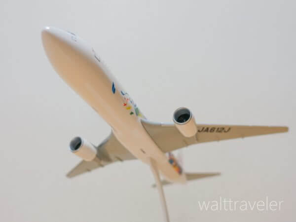 東京ディズニーリゾート 35周年 JAL セレブレーションエクスプレス 飛行機 モデルプレーン グランドフィナーレ