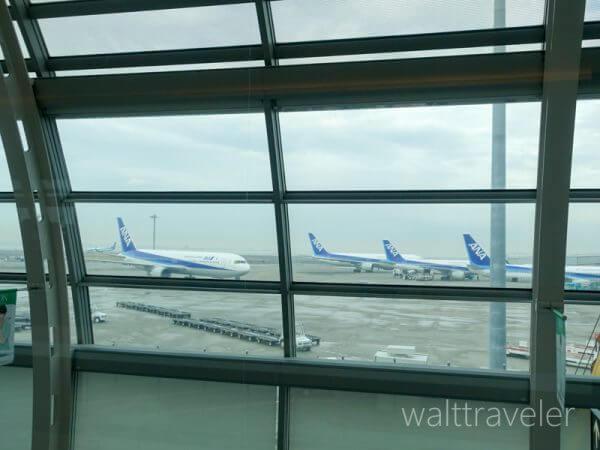 ANA 全日空 SFC修行 羽田空港 ラウンジ エアポートラウンジ南 第2ターミナル