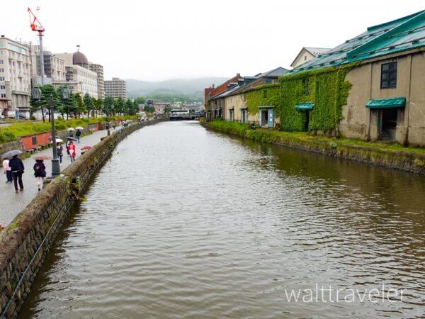 小樽 小樽運河 北海道日帰り旅行