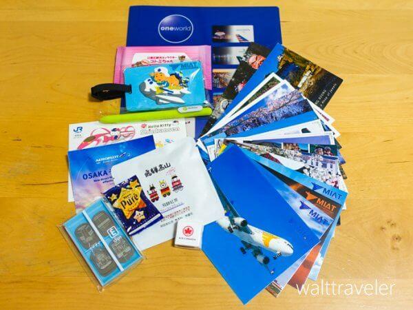 ツーリズムEXPOジャパン2019 旅博 旅行博 戦利品