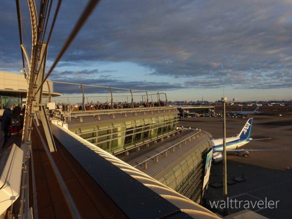 羽田空港国際線ターミナルの初日の出2020年