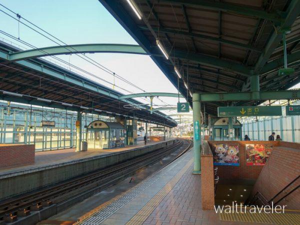 スペースワールド駅 九州旅行