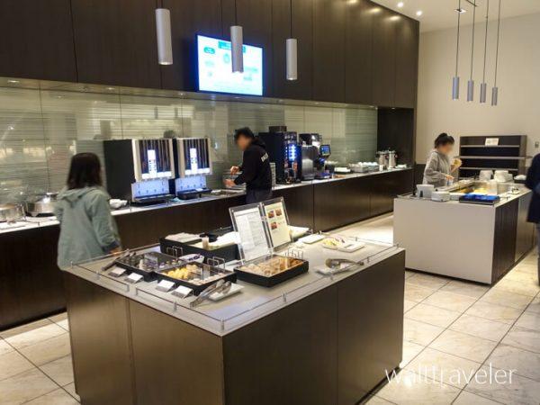 成田空港 ANAラウンジ 第5サテライト