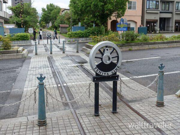 北海道日帰り旅行 小樽 旧手宮線跡