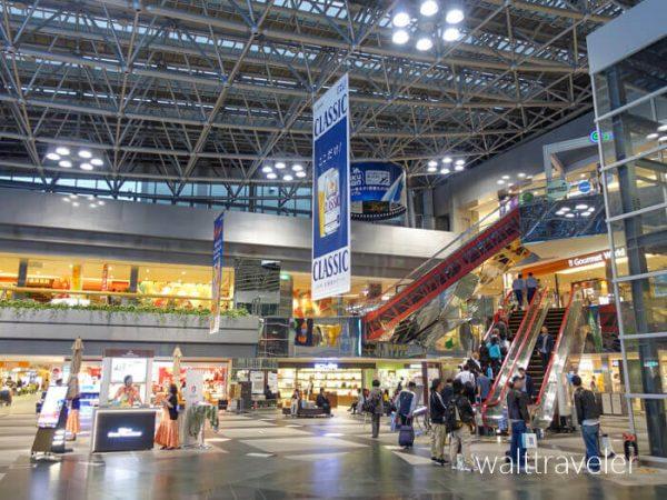 北海道日帰り旅行 新千歳空港