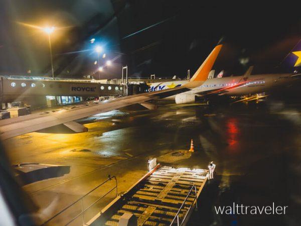 北海道日帰り旅行 ジェットスター GK124 新千歳→成田 新千歳空港