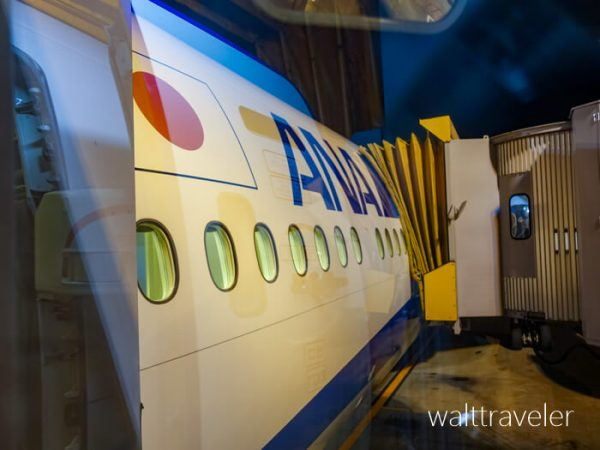 ANA SFC修行 No.1 3レグ NH801 成田→シンガポール ビジネスクラス 成田空港