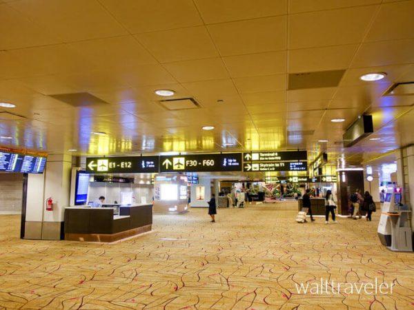 ANA SFC修行 No.1 3レグ NH801 成田→シンガポール ビジネスクラス チャンギ空港