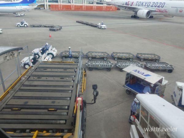 沖縄旅行 ANA ANA473 羽田→那覇 那覇空港