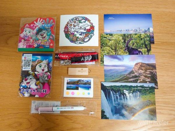 ツーリズムEXPOジャパン2020 旅博 旅行博 戦利品