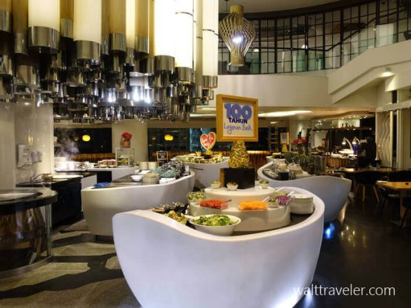 ヒルトン クアラルンプール Hilton Kuala Lumpur 朝食 SFC修行 No.3
