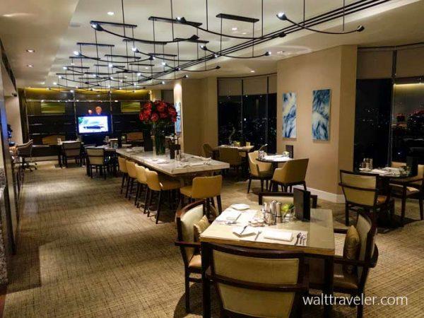 ヒルトン クアラルンプール Hilton Kuala Lumpur エグゼクティブラウンジ SFC修行 No.3
