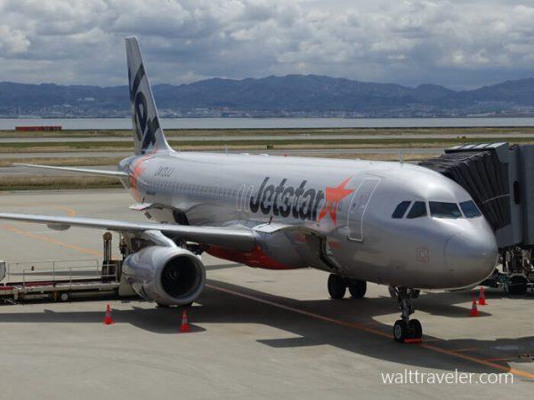 大阪日帰り旅行 ジェットスター GK203 成田→関西 関西空港