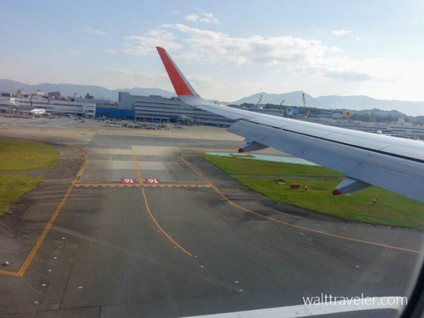 福岡旅行 ジェットスター GK503 成田→福岡 福岡空港