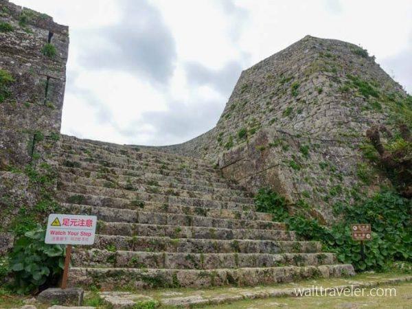 中城城跡 三の郭 沖縄旅行