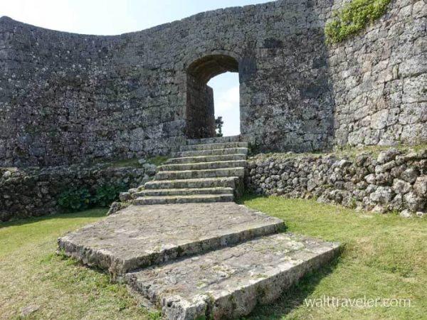 中城城跡 二の郭 沖縄旅行