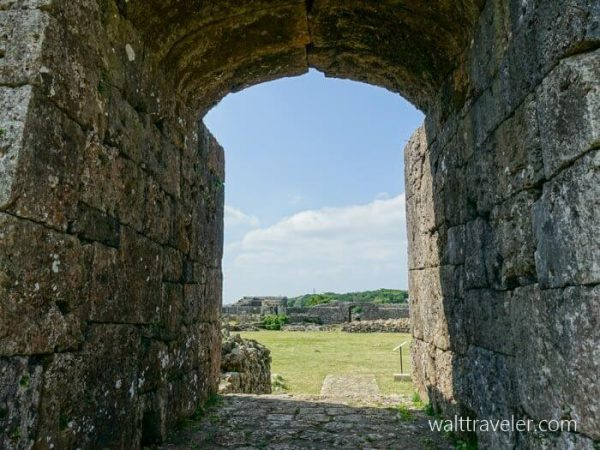 中城城跡 二の郭 一の郭 沖縄旅行
